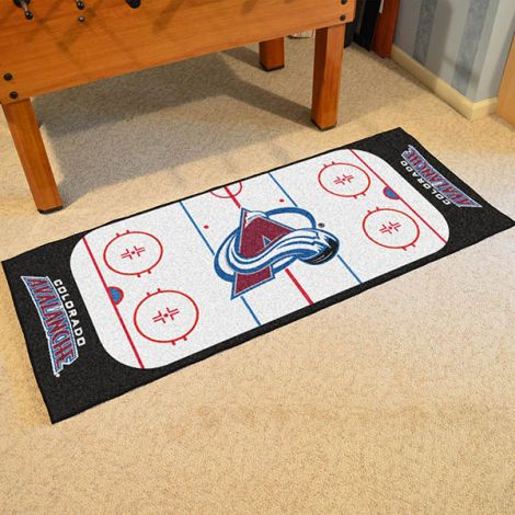 Colorado Avalanche NHL Rink Runner