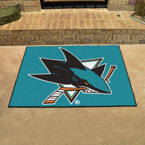 San Jose Sharks NHL All Star Mat