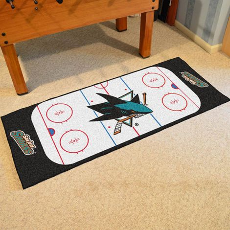 San Jose Sharks NHL Rink Runner