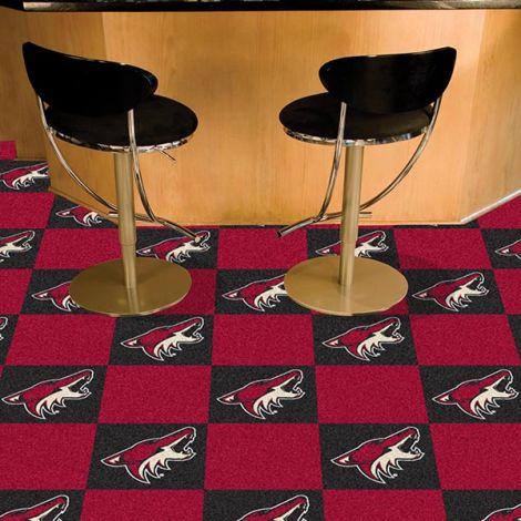 Arizona Coyotes NHL Team Carpet Tiles