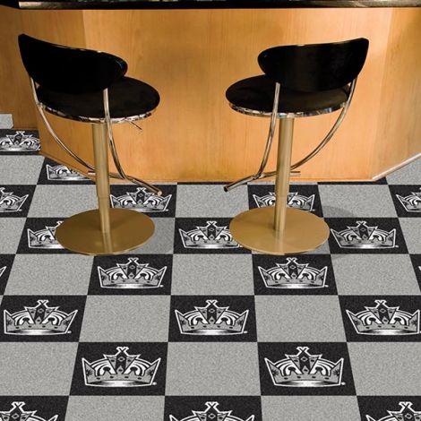 Los Angeles Kings NHL Team Carpet Tiles
