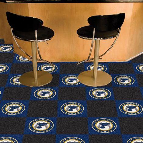 St. Louis Blues NHL Team Carpet Tiles