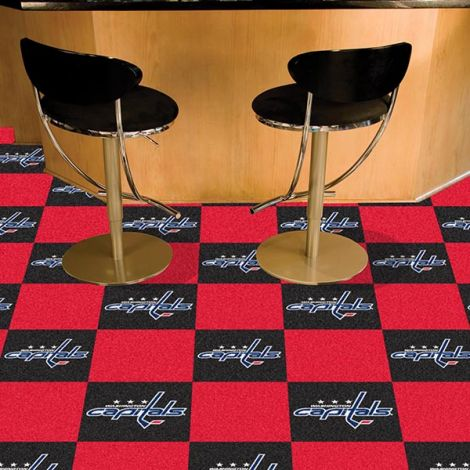 Washington Capitals NHL Team Carpet Tiles