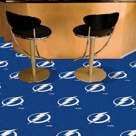 Tampa Bay Lightning NHL Team Carpet Tiles