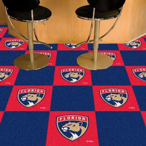 Florida Panthers NHL Team Carpet Tiles
