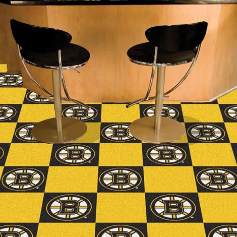 Boston Bruins NHL Team Carpet Tiles