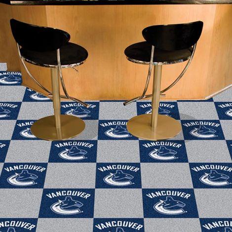 Vancouver Canucks NHL Team Carpet Tiles