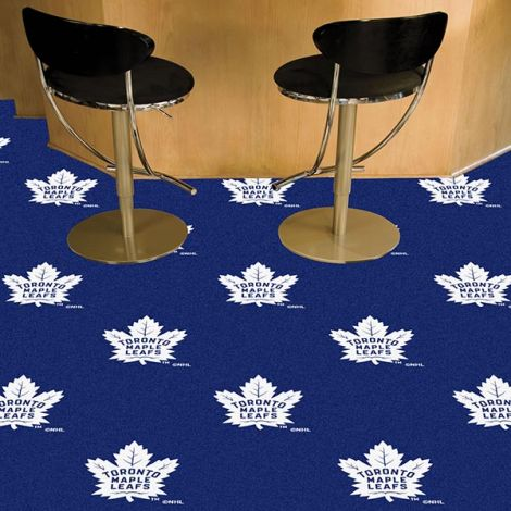 Toronto Maple Leafs NHL Team Carpet Tiles