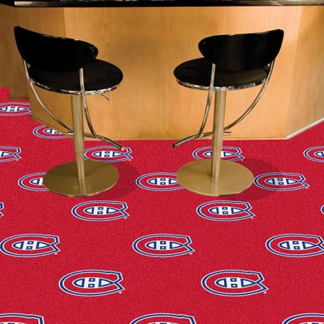Montreal Canadiens NHL Team Carpet Tiles