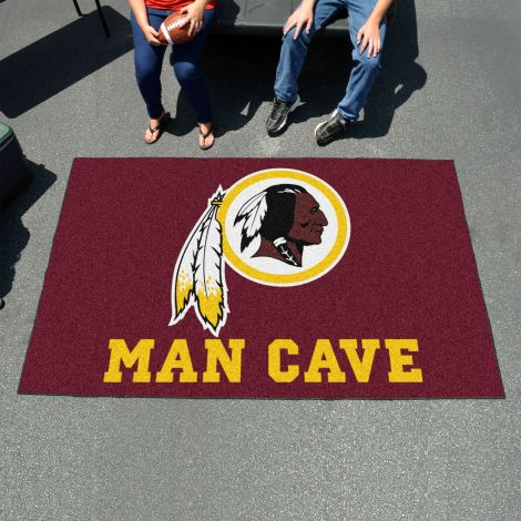 Washington Redskins MLB Man Cave UltiMat Rectangular Mats