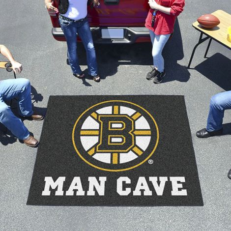 Boston Bruins NHL Man Cave Tailgater Mat