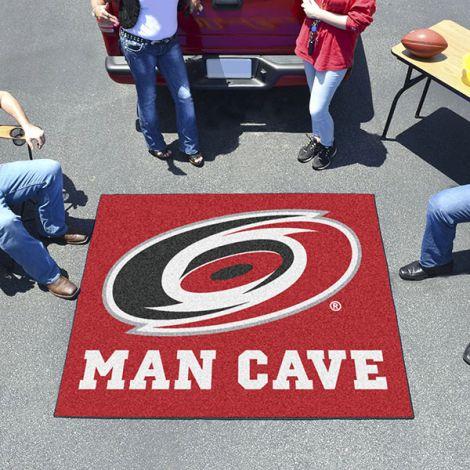 Carolina Hurricanes NHL Man Cave Tailgater Mat