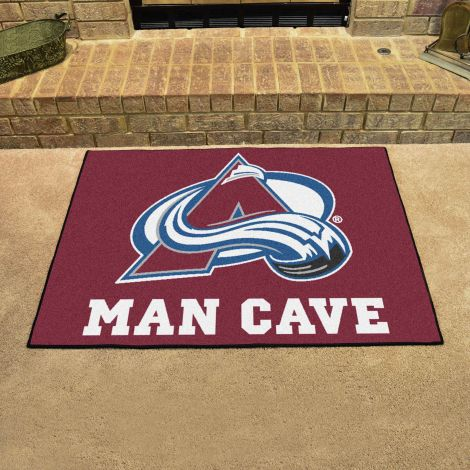 Colorado Avalanche NHL Man Cave All-Star Mat