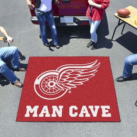 Detroit Red Wings NHL Man Cave Tailgater Mat