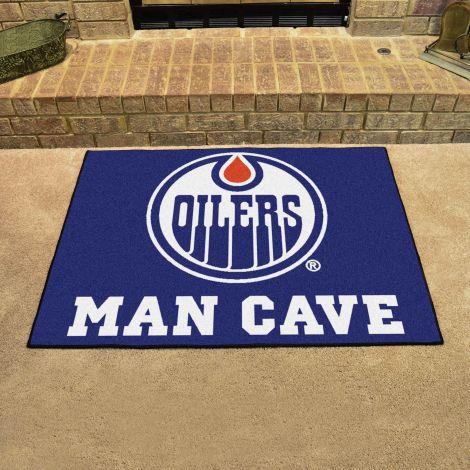 Edmonton Oilers NHL Man Cave All-Star Mat