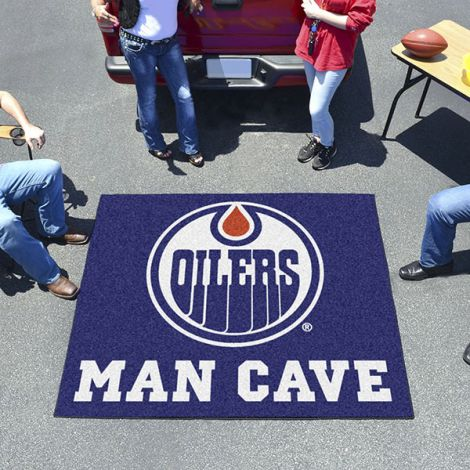 Edmonton Oilers NHL Man Cave Tailgater Mat