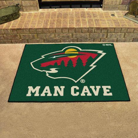 Minnesota Wild NHL Man Cave All-Star Mat
