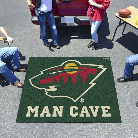 Minnesota Wild NHL Man Cave Tailgater Mat