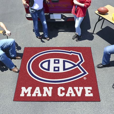Montreal Canadiens NHL Man Cave Tailgater Mat