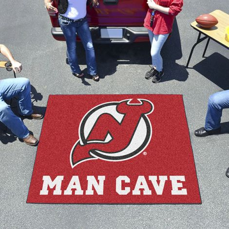 New Jersey Devils NHL Man Cave Tailgater Mat