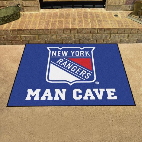 New York Rangers NHL Man Cave All-Star Mat