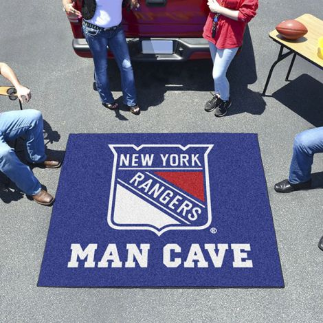 New York Rangers NHL Man Cave Tailgater Mat
