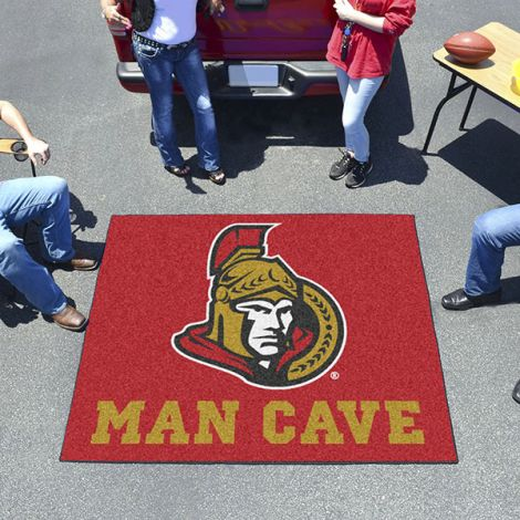 Ottawa Senators NHL Man Cave Tailgater Mat