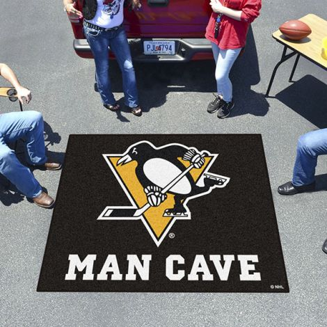 Pittsburgh Penguins NHL Man Cave Tailgater Mat