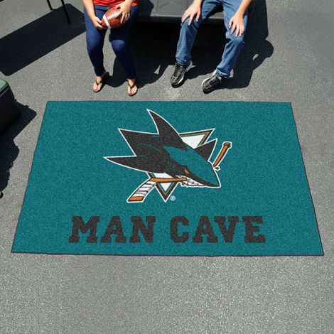 San Jose Sharks NHL Man Cave UltiMat
