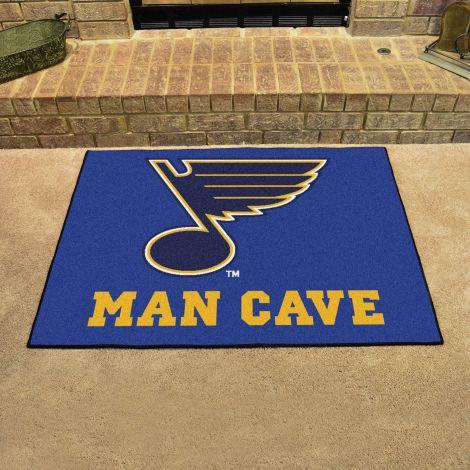 St. Louis Blues NHL Man Cave All-Star Mat