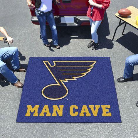 St. Louis Blues NHL Man Cave Tailgater Mat