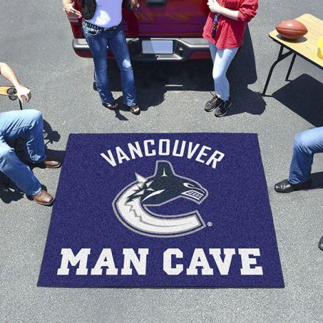 Vancouver Canucks NHL Man Cave Tailgater Mat