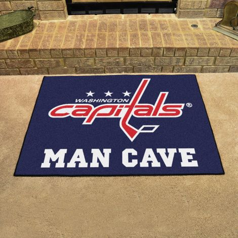 Washington Capitals NHL Man Cave All-Star Mat