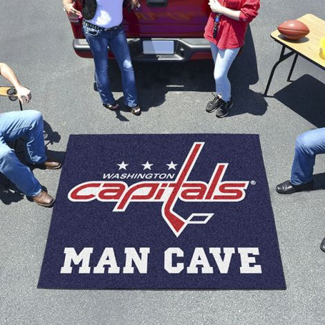 Washington Capitals NHL Man Cave Tailgater Mat