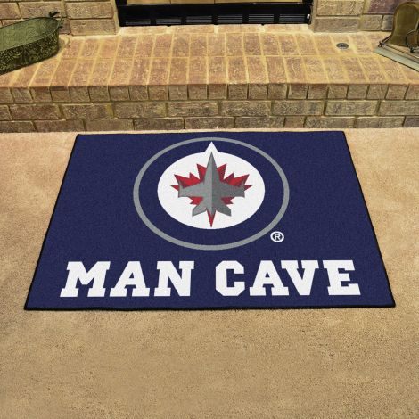Winnipeg Jets NHL Man Cave All-Star Mat