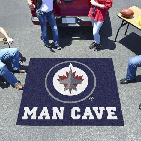 Winnipeg Jets NHL Man Cave Tailgater Mat