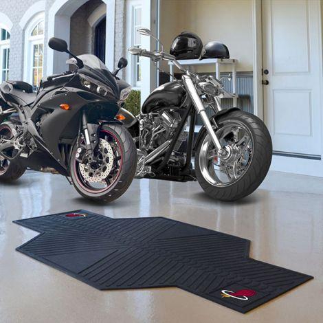 Miami Heat NBA Motorcycle Mat