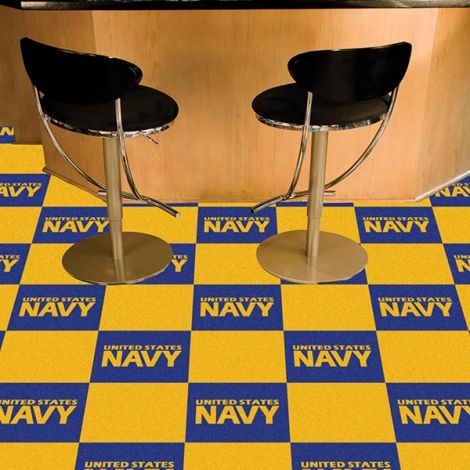 U.S. Navy Team Carpet Tiles