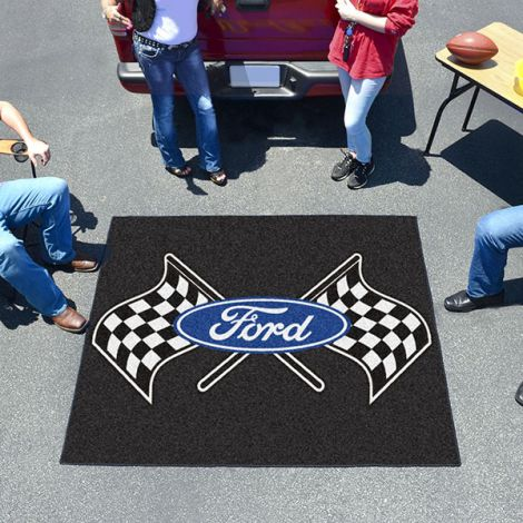 Ford Flags Black Ford Tailgater Mat