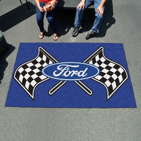 Ford Flags Blue Ford Ulti-mat