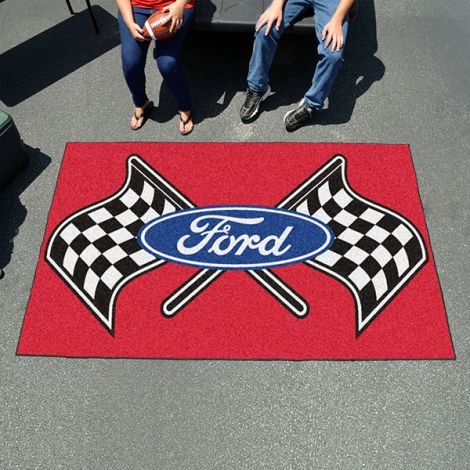 Ford Flags Red Ford Ulti-mat