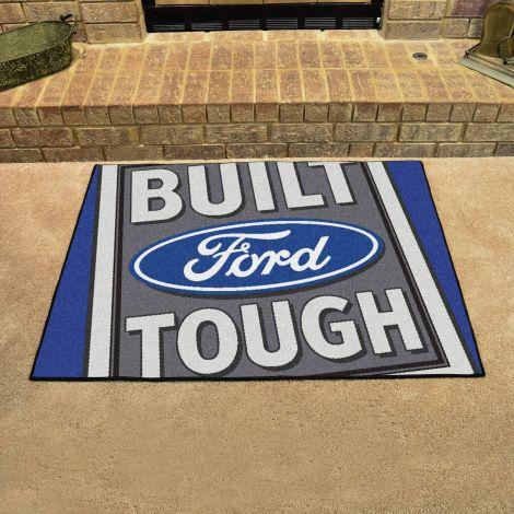 Built Ford Tough Blue Ford All Star Mat