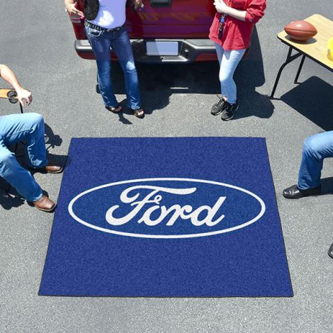 Ford Oval Blue Ford Tailgater Mat