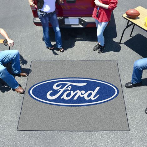 Ford Oval Grey Ford Tailgater Mat