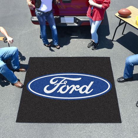 Ford Oval Black Ford Tailgater Mat