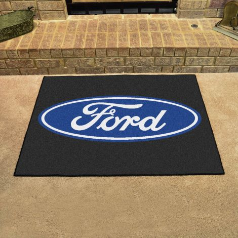 Ford Oval Black Ford All Star Mat