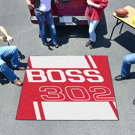 Boss 302 Red Ford Tailgater Mat