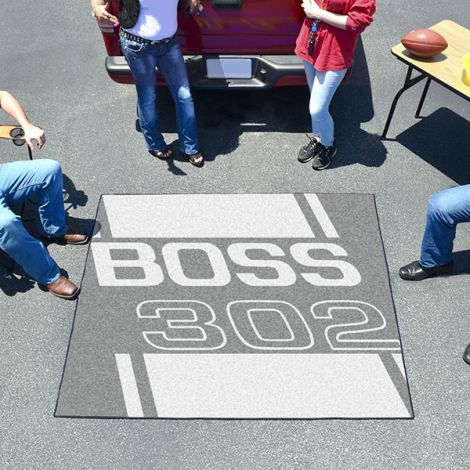 Boss 302 Grey Ford Tailgater Mat