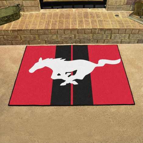 Mustang Horse Red Ford All Star Mat