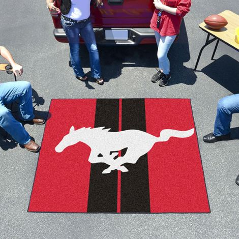 Mustang Horse Red Ford Tailgater Mat